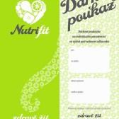 dárkový poukaz nutrifit